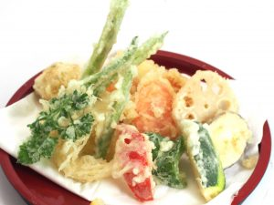 Tempura Vegetable Appetizer