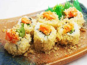 Kamikaze Salmon Roll